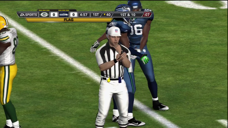 Illustration for article titled Rumor: Next Year's Madden Will Include Actual NFL Referees