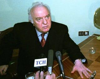 Illustration for article titled Meghalt Eduard Sevardnadze