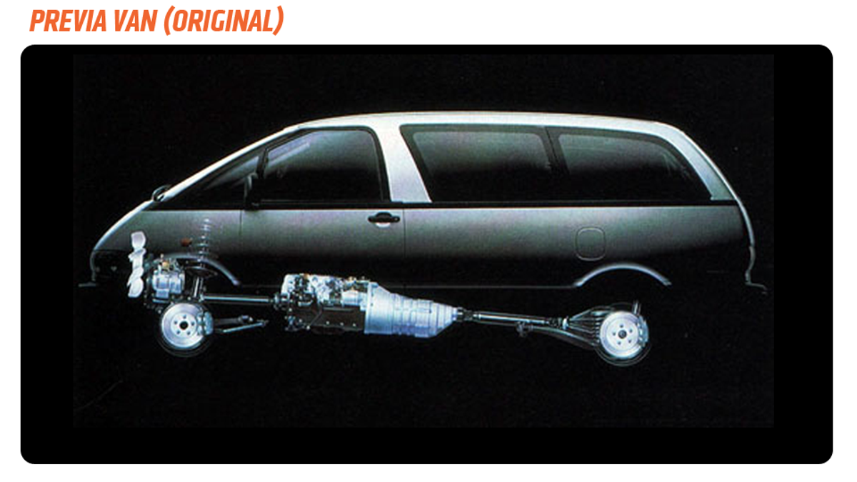 Toyota Previa Engine Layout British Automotive Estima Fuse Box Location Should Have Made The Mid Engined Into Its Own Amazing
