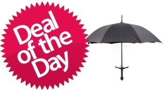 Illustration for article titled This Broad Sword Umbrella Is Your Battle-The-Rain-And-Win Deal of the Day