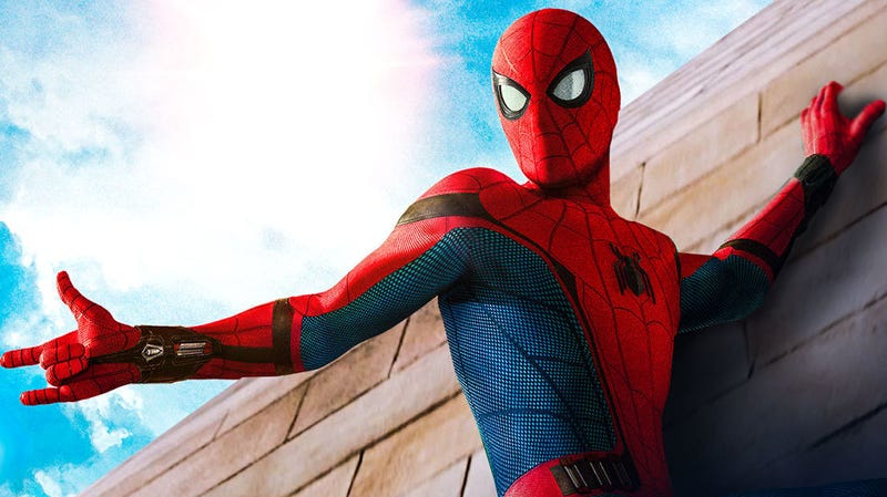 Spider-Man's Homecoming suit, seen here, seems like it's getting an upgrade.