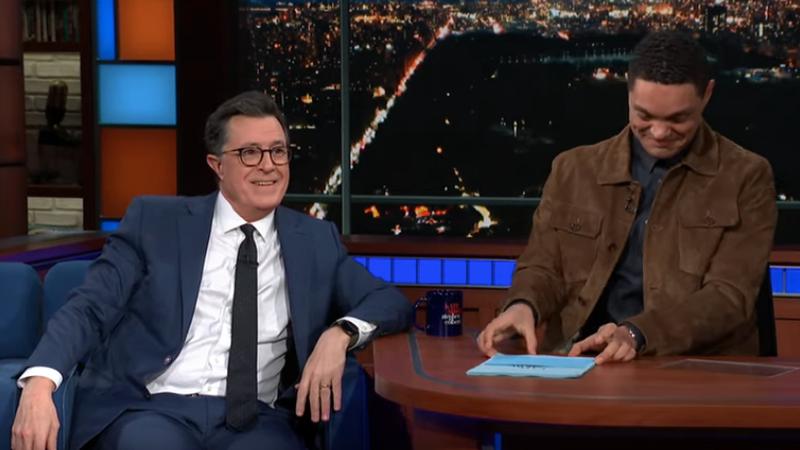 Stephen Colbert, Trevor Noah