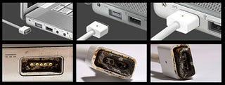 Illustration for article titled MacBook Magnetic MagSafe Connector Not So Safe After All