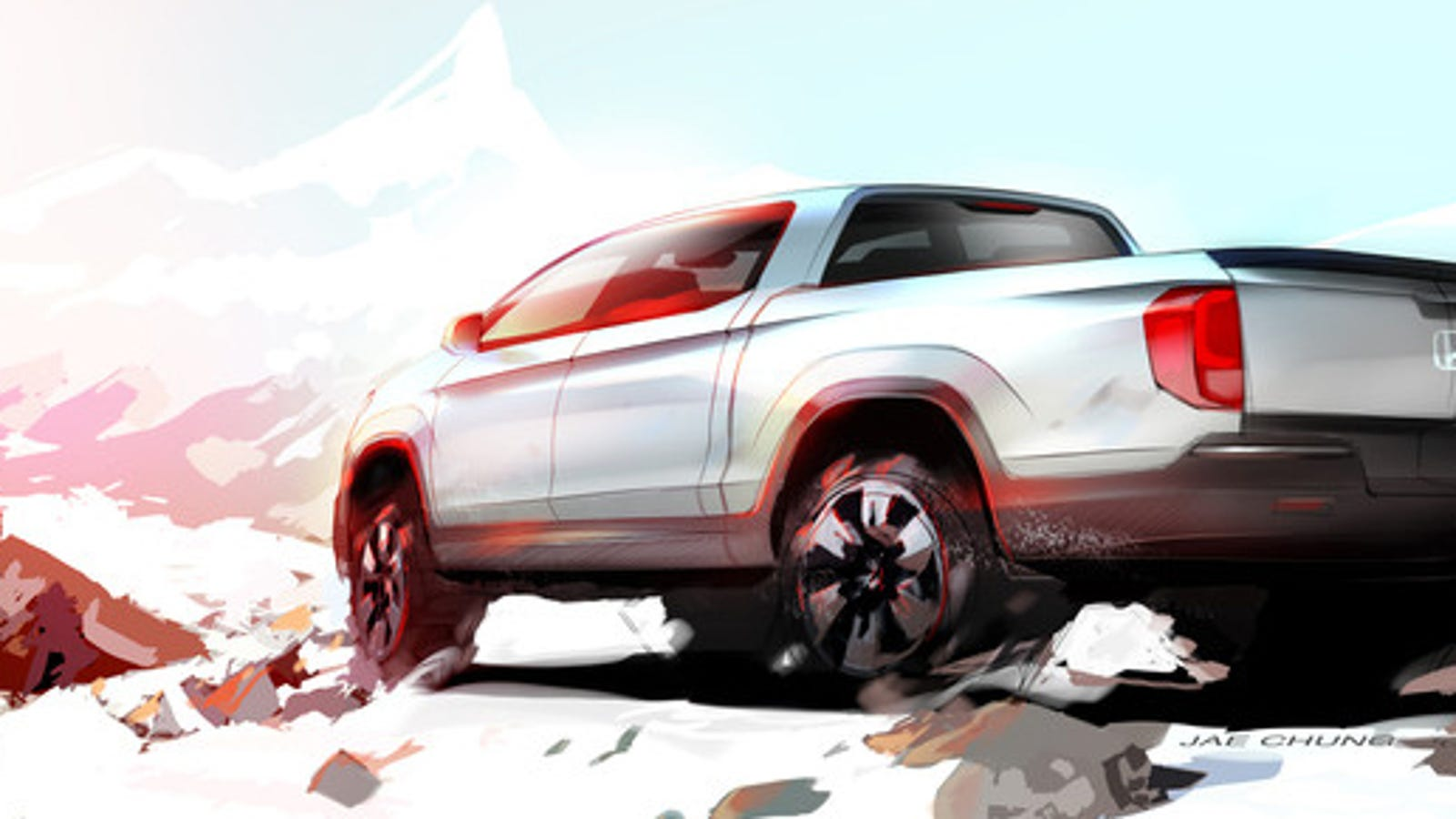Will The New Honda Ridgeline Be A Real Manly Man Testosterone Truck?