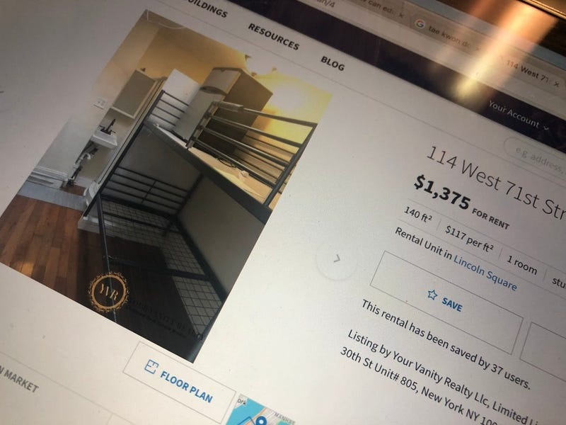 Illustration for article titled Solo hace falta una imagen para entender lo ridículamente costoso que puede ser alquilar en Nueva York