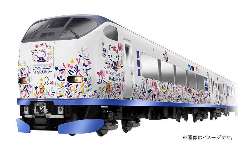 Illustration for article titled Japan Is Getting Yet Another Hello Kitty Train