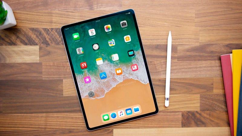 Illustration for article titled Un icono oculto en iOS confirma el nuevo iPad sin botón de inicio y con Face ID