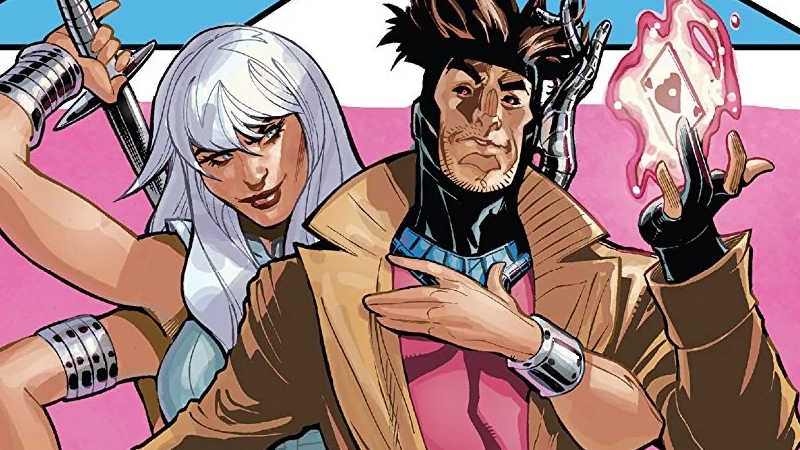 Gambit on the cover of Mr. and Mrs. X #8.