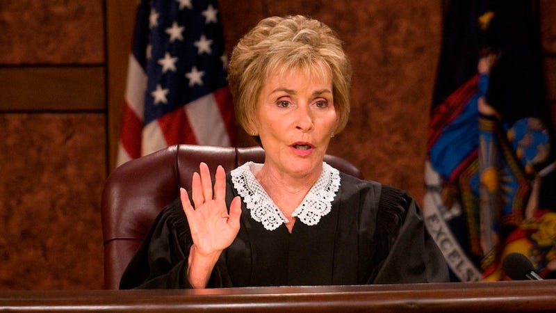 Illustration for article titled I Stand with the 13% of Americans Who Think Judge Judy Is on the Supreme Court