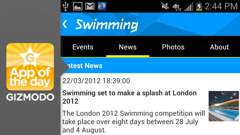 Illustration for article titled London 2012 Results App: Follow Team USA at the Olympics