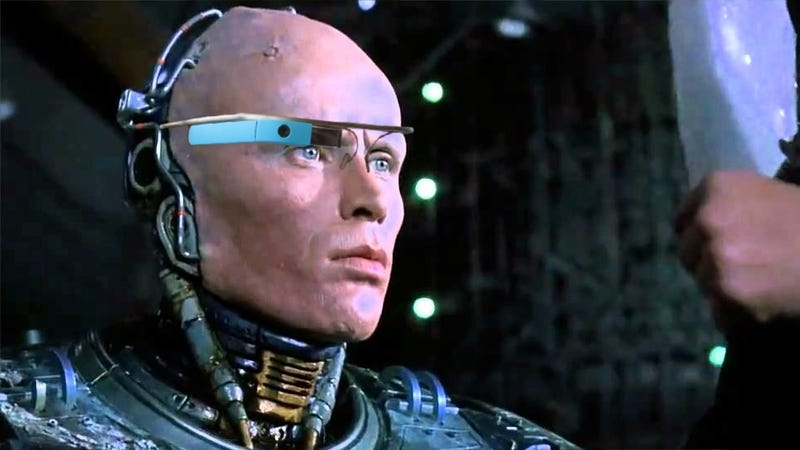 Illustration for article titled Google Glass for Police Brings Us Closer to a RoboCop Reality