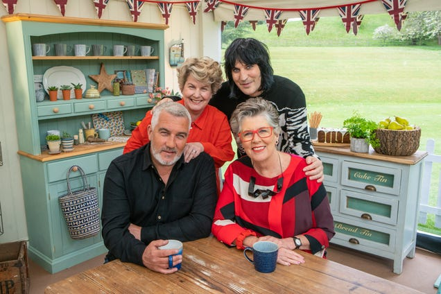"The Great British Baking Show's ""Biscuit Week"" brings chocolate and newtons and dragons, oh my!"