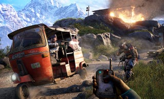 Illustration for article titled Watch People Play Far Cry 4 Live, Right Here
