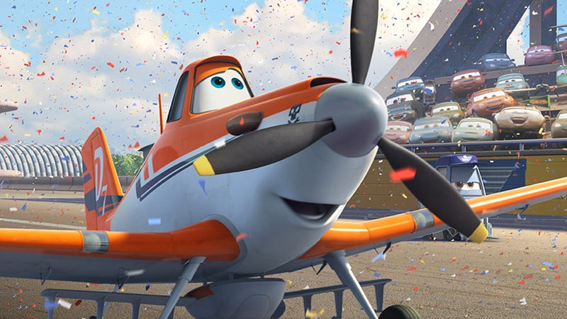 Illustration for article titled In Disney's Planes, the Guys Soar While the Girls Get Left in the Dust