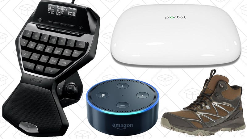 Illustration for article titled Today's Best Deals: Logitech Gold Box, Echo Dot, Portal Router, and More