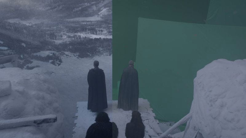 Illustration for article titled Game Of Thrones' latest VFX reel highlights the show's impressive settings