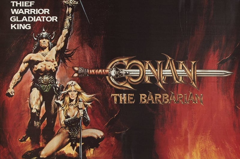 Illustration for article titled Everything You Never Knew About The Making of Conan The Barbarian