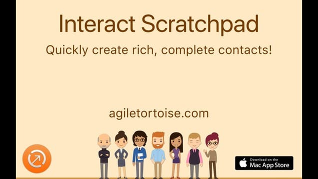 Interact Scratchpad Turns Lazily Formatted Addresses Into Contacts ... fcc793a0f