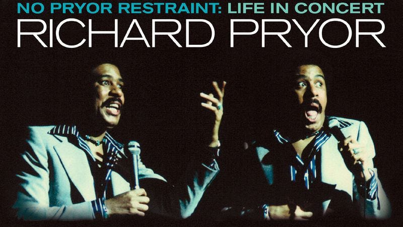 Illustration for article titled Exclusive: There's a new Richard Pryor box coming out, and we've got a filthy track for you to hear