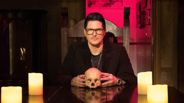 Eli Roth and Zak Bagans  The Haunted Museum Will Explore the Stories Behind Real-Life Spooky Objects