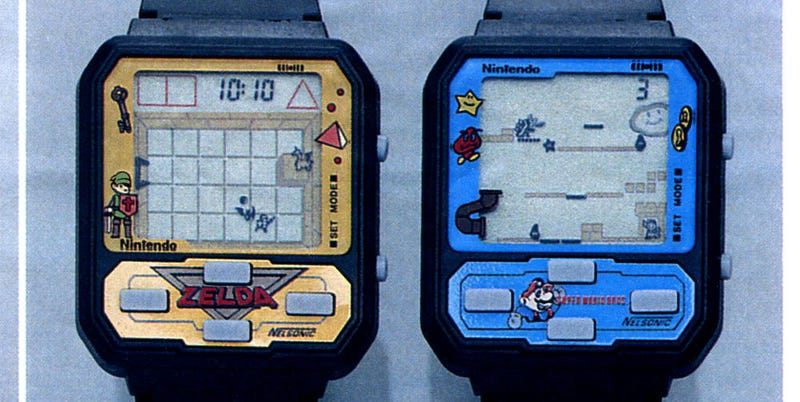 Screw Apple's Watch, Nintendo's Watches Were Way Cooler