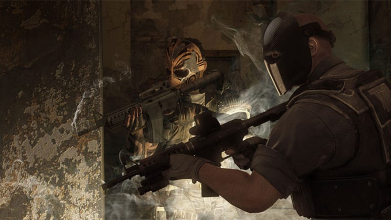 Illustration for article titled The Devil's Cartel Gives the Army of Two Franchise a Leg Up