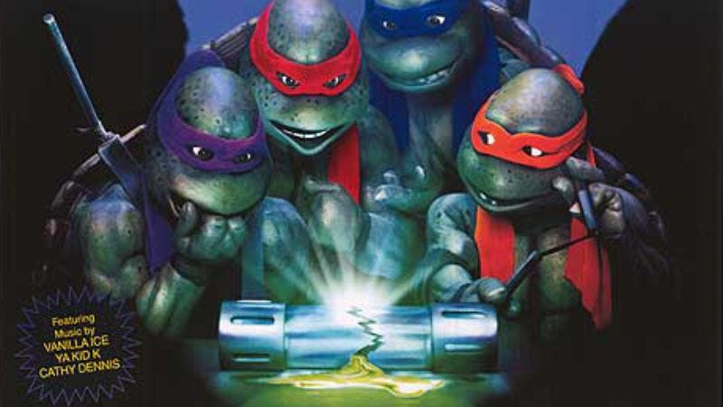 Illustration for article titled Celebrate the 25th anniversary of Teenage Mutant Ninja Turtles II: The Secret Of The Ooze