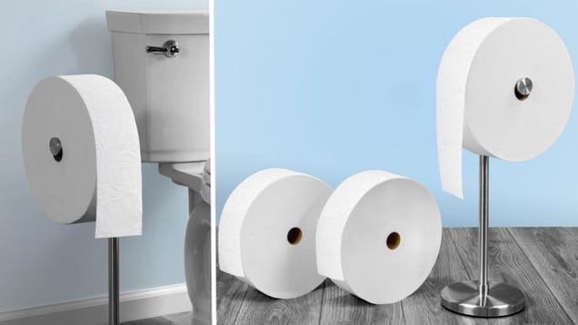 This Charmin Forever Roll Starter Kit Is Totally the Shit