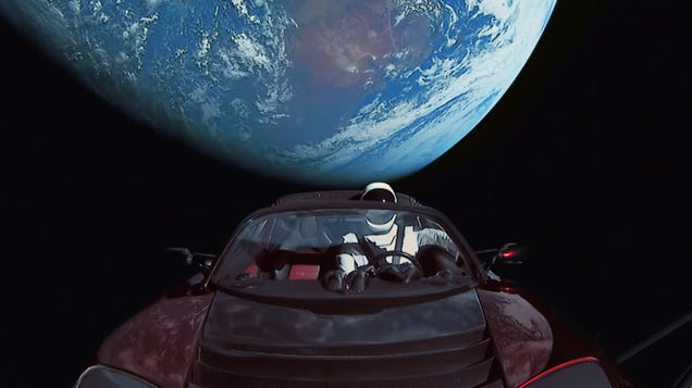 Elon Musk s Space Car Has Racked Up Way More Miles Than Any Car in History