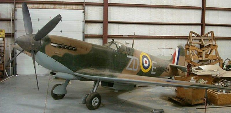 Barn Find 1943 Vickers Supermarine Spitfire IXb