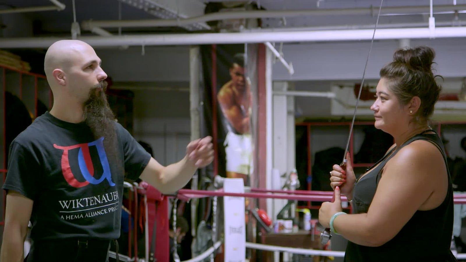 How I Learned to Sword Fight Like Arya Stark