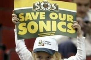 Illustration for article titled The Seattle Sonics Could Not Be Saved