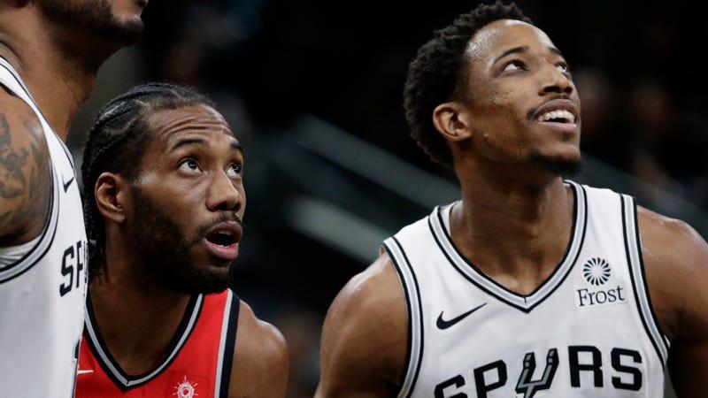 51f68e5cbc0 DeMar DeRozan Outshines Kawhi Leonard As The Spurs Rout The Raptors