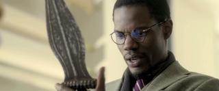 Stephen Tyrone Williams as Dr. Hess Greene inDa Sweet Blood of JesusDa Sweet Blood of Jesus