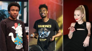 Childish Gambino; Danny Brown; Iggy AzaleaTaylor Hill/Getty Images; Andrew Benge/Getty Images; Johnny Nunez/Getty Images