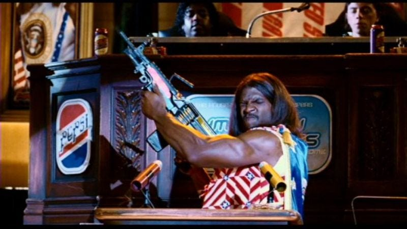 Illustration for article titled Terry Crews says he and Mike Judge are developing Idiocracy spin-off around President Camacho