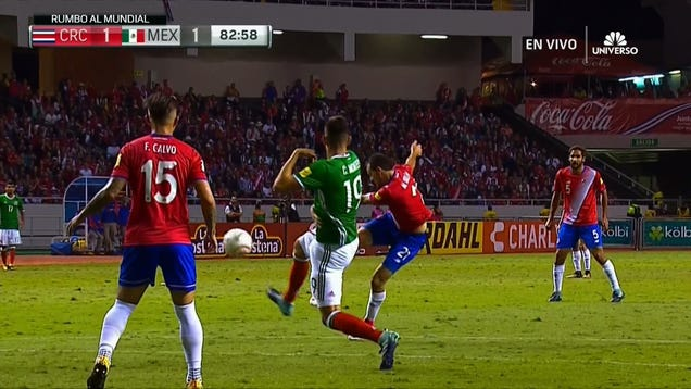 Costa Rica And Mexico Draw After Gorgeous Marco Ureña Golazo
