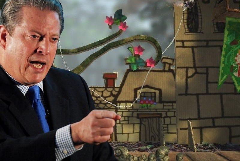 Illustration for article titled Liveblogging Al Gore's Games for Change Keynote