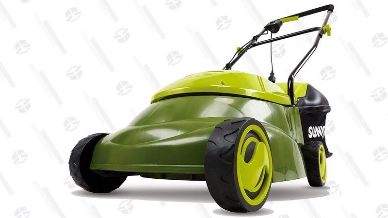 Sun Joe MJ401E Mow Joe 14-Inch 12 Amp Electric Lawn Mower | $79 | Amazon
