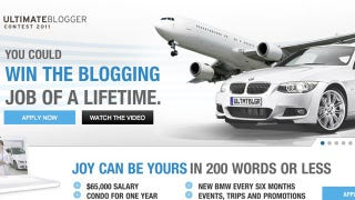 Illustration for article titled BMW dealer offers $65,000 for indentured blogging servant