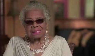 Maya AngelouYouTube screenshot
