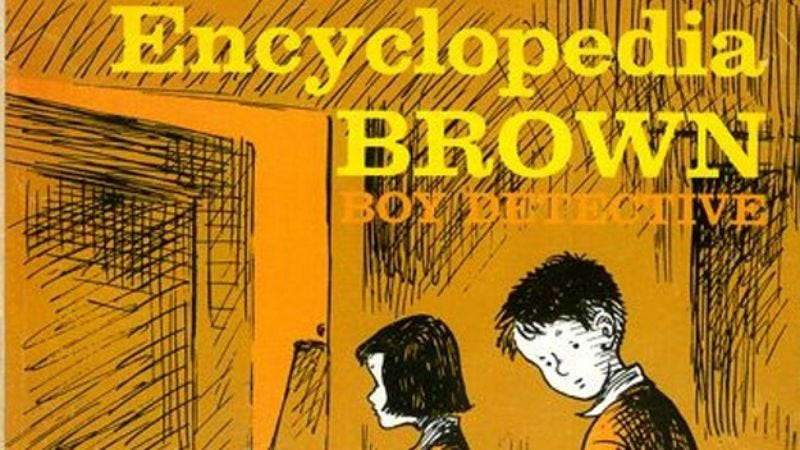 Illustration for article titled Warner Bros. to try making an Encyclopedia Brown movie again