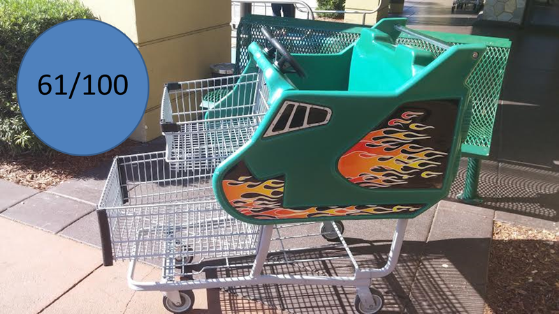 Illustration for article titled 2012 Publix RTS Shuttle Kiddie Carts: The Oppositelock Review