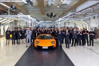 Illustration for article titled This Is The Last Lamborghini Murciélago