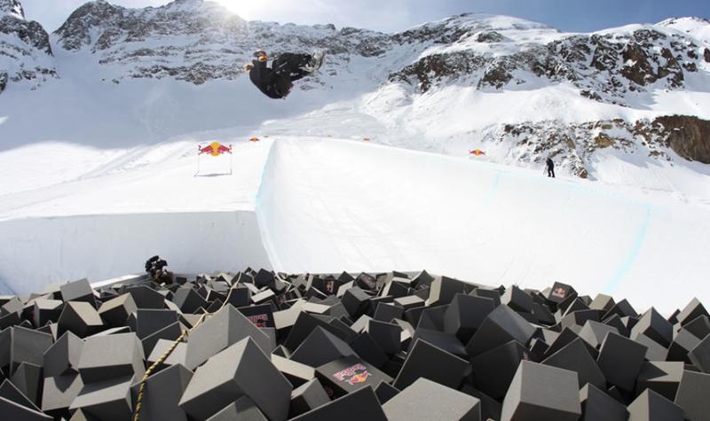 Illustration for article titled The Secret Snowboarding Superpipe