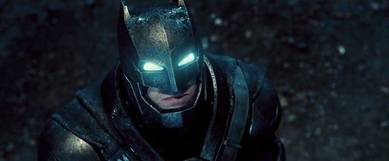 Illustration for article titled El Batman de Ben Affleck es tan bueno que será el verdadero protagonista deBatman v Superman