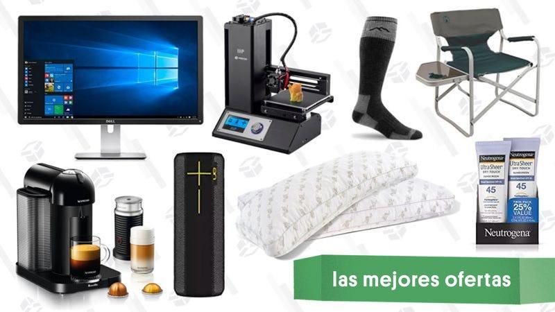 Illustration for article titled Las mejores ofertas de este viernes: Monitor 4K, impresoras 3D, altavoz con resistencia al agua y más