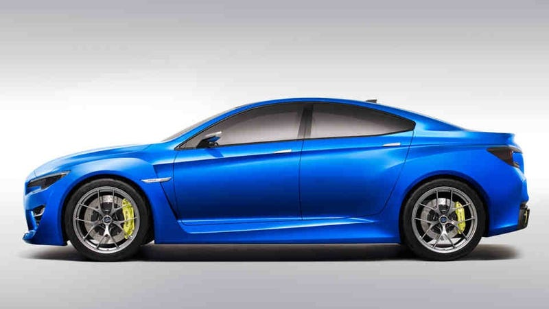 Illustration for article titled Subaru WRX Concept: This Is It.