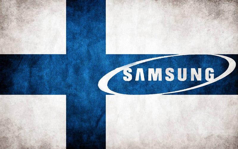 Illustration for article titled Samsung conquista Finlandia
