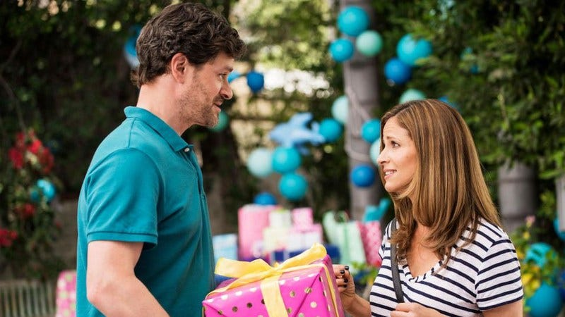 Tom Everett Scott and Andrea Savage in I'm Sorry (Photo: truTV)